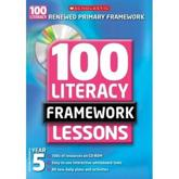 100 New Literacy Framework Lessons for Year 5 with CD Rom
