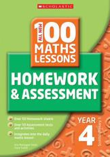 100 Maths Homework and Assessment Activities for Year 4