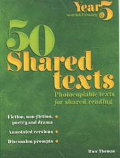 50 Shared Texts for Year 5