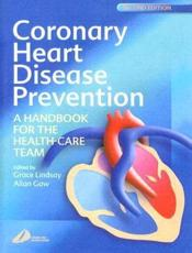Coronary Heart Disease Prevention: A Handbook for the Health-Care Team
