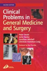 ISBN: 9780443073236 - Clinical Problems in General Medicine and Surgery