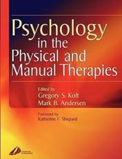 Psychology in the Physical and Manual Therapies
