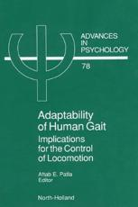 Adaptability of Human Gait