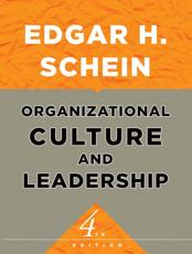 ISBN: 9780470190609 - Organizational Culture and Leadership