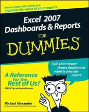 ISBN: 9780470228142 - Excel 2007 Dashboards and Reports For Dummies