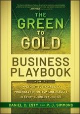 ISBN: 9780470590751 - The Green to Gold Business Playbook