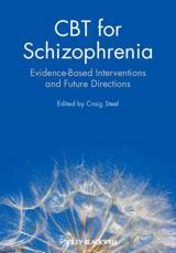ISBN: 9780470712054 - CBT for Schizophrenia