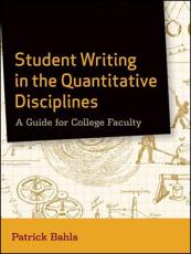 ISBN: 9780470952122 - Student Writing in the Quantitative Disciplines
