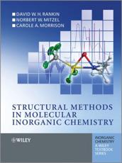 ISBN: 9780470972786 - Structural Methods in Molecular Inorganic Chemistry