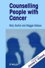 Counselling Patients with Cancer