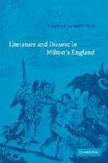 ISBN: 9780521050708 - Literature and Dissent in Milton's England