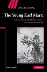 ISBN: 9780521118262 - The Young Karl Marx