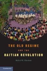 ISBN: 9780521545310 - The Old Regime and the Haitian Revolution