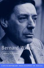 ISBN: 9780521665551 - Bernard Williams