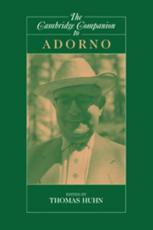 Theodor Adorno Marxist Criticisms | RM.