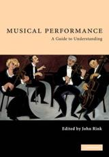 ISBN: 9780521788625 - Musical Performance