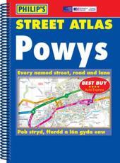 Philips Street Atlas Powys