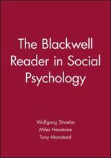 ISBN: 9780631199984 - The Blackwell Reader in Social Psychology