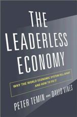 ISBN: 9780691157436 - The Leaderless Economy