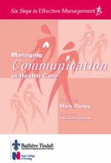 Managing Communication in Healthcare