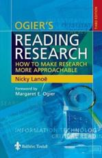 Ogier's Reading Research: How to Make Research More Approachable