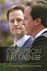ISBN: 9780719083709 - Coalition Britain