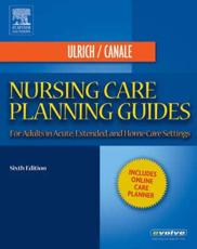 Nursing Care Planning Guides