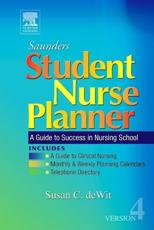 Saunders Student Nurse Planner