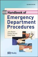 Handbook of Emergency Department Procedures