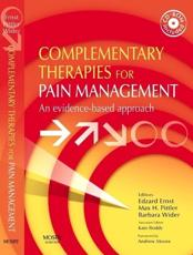 Complementary Therapies for Pain Management: An Evidence-Based Approach with CDROM