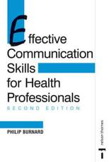 Effective Communication Skills for Health Professionals