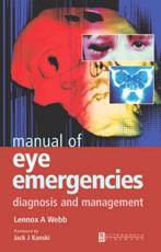 Manual of Eye Emergencies