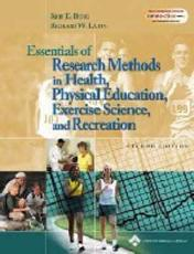 Essentials of Research Methods in Health, Physical Education, Exercise
