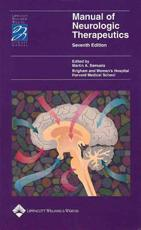 Manual of Neurological Therapeutics