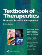 Textbook of Therapeutics: Drug and Disease Management with Other
