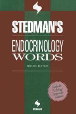 Stedman's Endocrinology Words