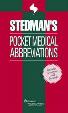 Stedman's Pocket Medical Abbreviations