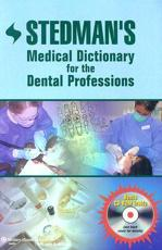 Stedman's Medical Dictionary for the Dental Professions with CDROM