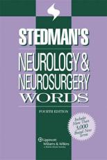 Stedman's Neurology and Neurosurgery Words