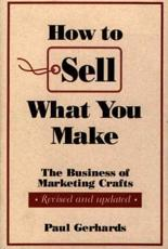 How to Sell What You Make