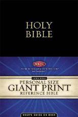 Personal Size Giant Print Holy Bible Reference Edition
