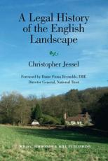 ISBN: 9780854900879 - A Legal History of the English Landscape