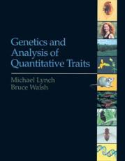 ISBN: 9780878934812 - Genetics and Analysis of Quantitative Traits