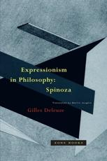 Expressionism in Philosophy: Spinoza