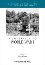 ISBN: 9781119968702 - A Companion to World War I