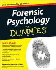 ISBN: 9781119976240 - Forensic Psychology For Dummies