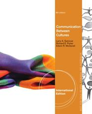 ISBN: 9781133492160 - Communication Between Cultures