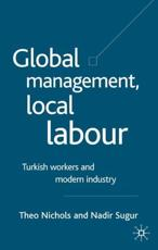 ISBN: 9781403917508 - Global Management, Local Labour