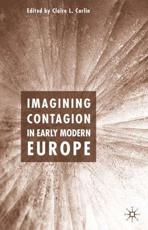Imagining Contagion in Early Modern Europe