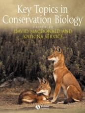 ISBN: 9781405122498 - Key Topics in Conservation Biology